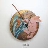 画像: 釣うさぎの時計