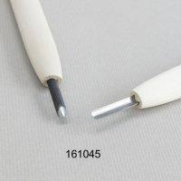 彫刻刀安来鋼 丸型4.5mm 別誂R