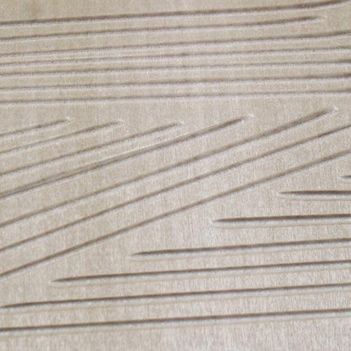 画像: 彫刻刀安来鋼 U字刀2mm