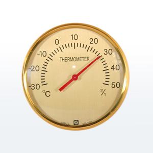 画像3: ブドウの温度計(台付)朴材