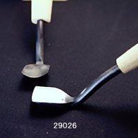 つきのみ小道具朴柄 面打ち用丸曲型21mm