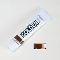 ゴールデンアクリリックス バーントアンバー115-Aチョコレート色