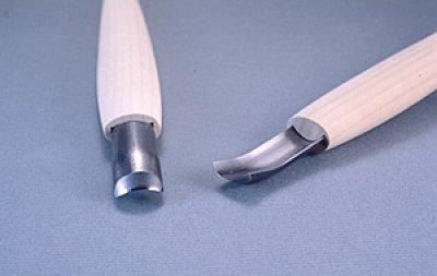 画像1: 彫刻刀ハイス鋼HSS 丸曲型7.5mm