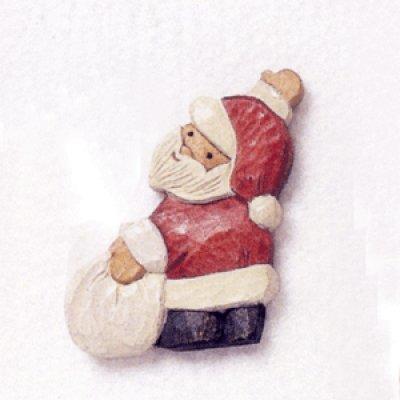 画像1: 並べてサンタ〈立体〉 サンタ 4