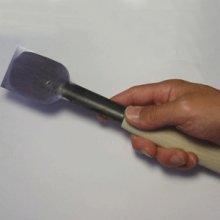 他の写真3: 彫刻刀安来鋼super 面打ち平型 45mm