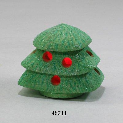 画像1: ツリーランプ LED付き シナ材