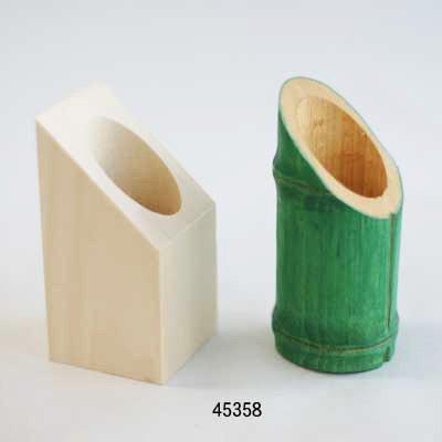 画像1: そぎ竹のランプ LED付き