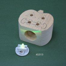 他の写真3: カボチャのランプ LED付き   シナ材