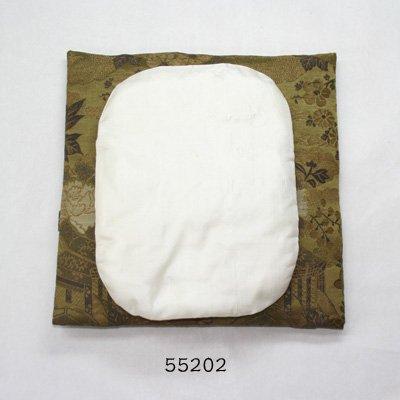 画像1: 面当て(綿入り)  中 白色