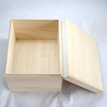 他の写真1: 能面箱大 桐材 紐付