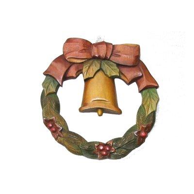画像1: クリスマスリース 中