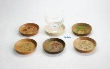 他の写真2: 丸型茶托 朴材