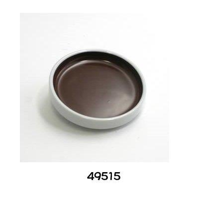 画像1: 鉄鉢単色 煤竹 #15