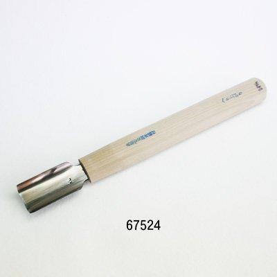 画像1: 彫刻刀安来鋼 へり上がり24mm
