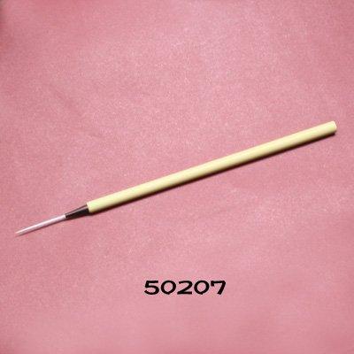 画像1: 毛がき筆 極細穂長 ナイロン筆