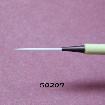 画像2: 毛がき筆 極細穂長 ナイロン筆