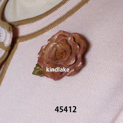 画像1: 四季のバラ 春のバラ  ピン付