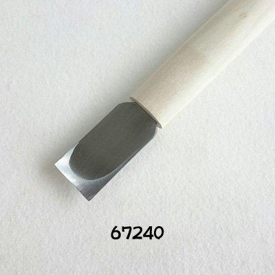 画像3: 彫刻刀安来鋼super 平型24mm  NEWタイプ