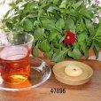 画像9: 丸型茶托 朴材