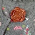 画像1: 四季のバラ 冬のバラ ピン付 (1)