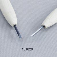 彫刻刀安来鋼 丸型2mm 別誂R