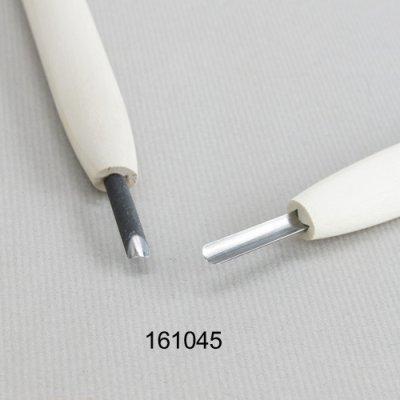 画像1: 彫刻刀安来鋼super 丸型4.5mm 別誂R