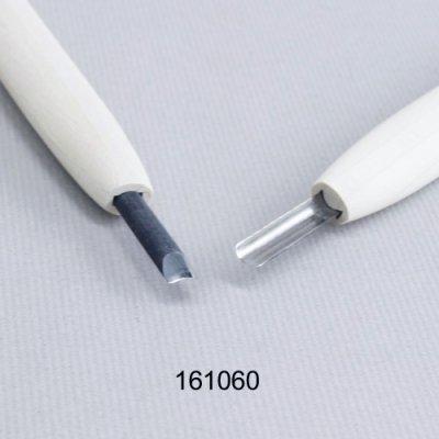 画像1: 彫刻刀安来鋼super 丸型6mm 別誂R