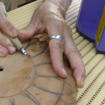 画像2: ひまわりの時計 時計付き