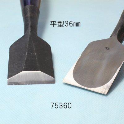 画像2: たたきのみ 平型36mm