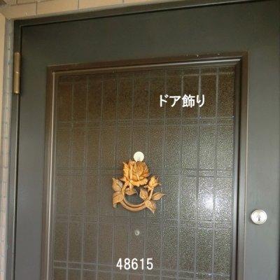 画像1: ドア飾り バラ ミニ
