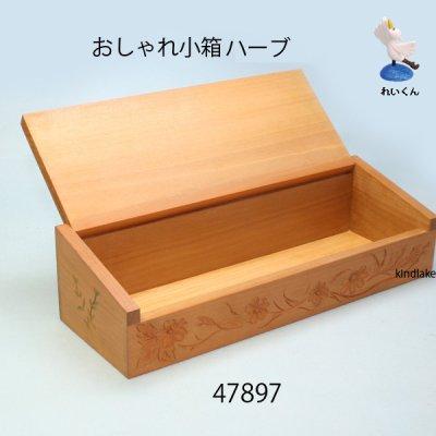 画像3: おしゃれ小箱(ハーブ) 朴材