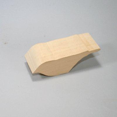 画像1: スズメ シングルカット シナ材