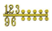 文字符 ドット・アラビア数字 BF-211