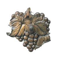 ブドウの小物掛け(1) 朴材