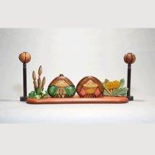 他の写真1: おむすび型 土筆付き シナ材