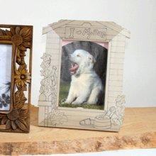 他の写真1: はがき額 犬小屋