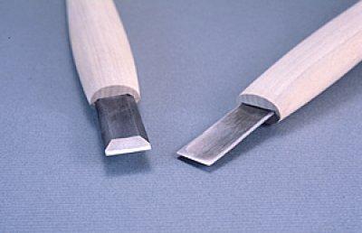 画像1: 彫刻刀ハイス鋼HSS 平型18mm