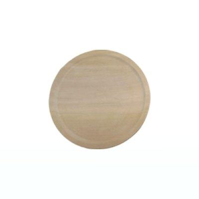 画像1: 丸盆八寸 特上品 朴材