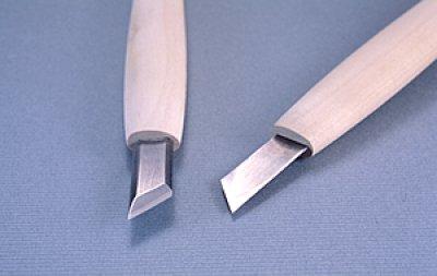 画像1: 彫刻刀ハイス鋼HSS 印刀左型18mm