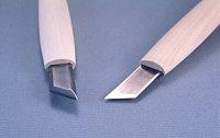 彫刻刀ハイス鋼HSS 印刀型右13.5mm