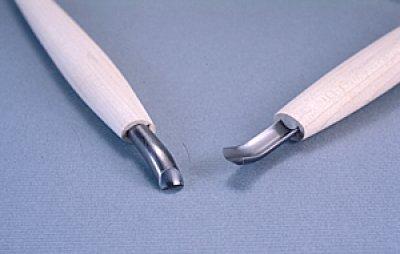 画像1: 彫刻刀ハイス鋼HSS 丸曲型6mm