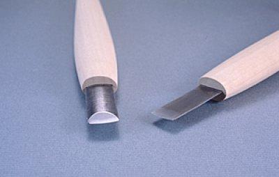 画像1: 彫刻刀ハイス鋼HSS 極浅丸型7.5mm
