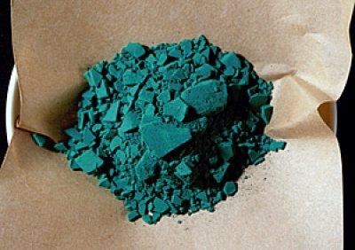 画像1: 水干顔料 緑青#7