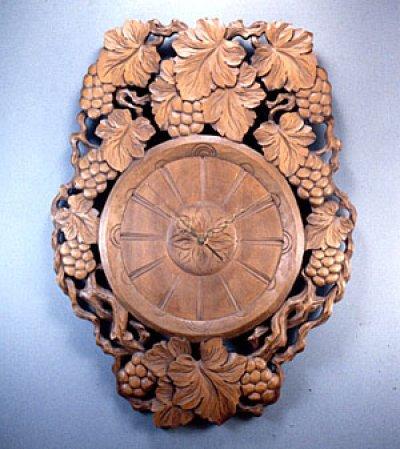 画像1: 針時計 ブドウ