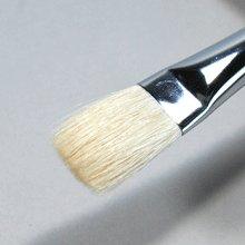 他の写真1: 平筆(羊毛)木軸 5号 15mm