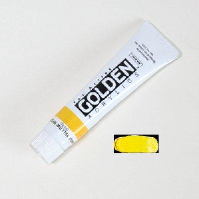 画像1: ゴールデンアクリリックス ハンザイエローミディアム42B黄色