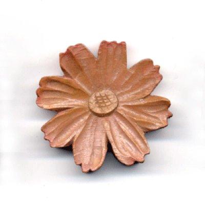 画像1: スプーン・箸置き コスモス 朴材