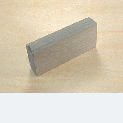 画像1: 天然砥石 裏研ぎ砥 丸15mm