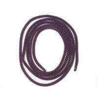 ループタイ 古代紫 組紐太 (人絹)