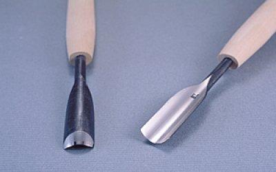 画像1: つきのみ小道具朴柄 丸型18mm